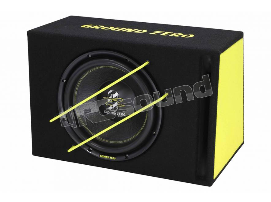 ground zero gzib 3000spl subwoofer subwoofer in cassa rg sound store. Black Bedroom Furniture Sets. Home Design Ideas