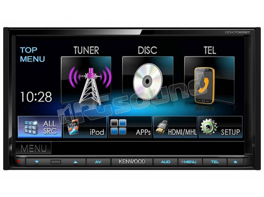 kenwood ddx7025 monitor auto 1 e 2 din car multimedia. Black Bedroom Furniture Sets. Home Design Ideas