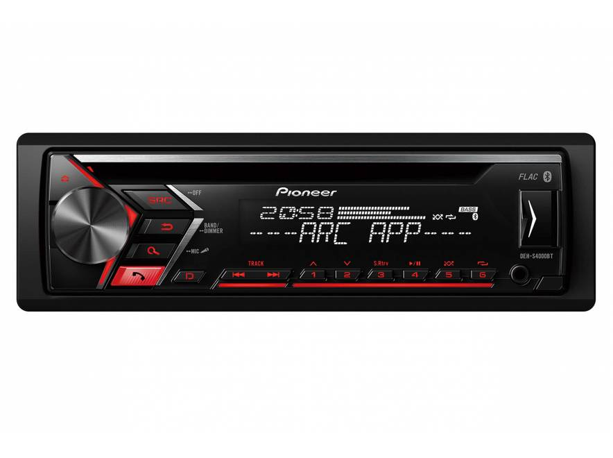 pioneer deh 3900bt autoradio 1 din e 2 din autoradio 1 din rg sound store. Black Bedroom Furniture Sets. Home Design Ideas