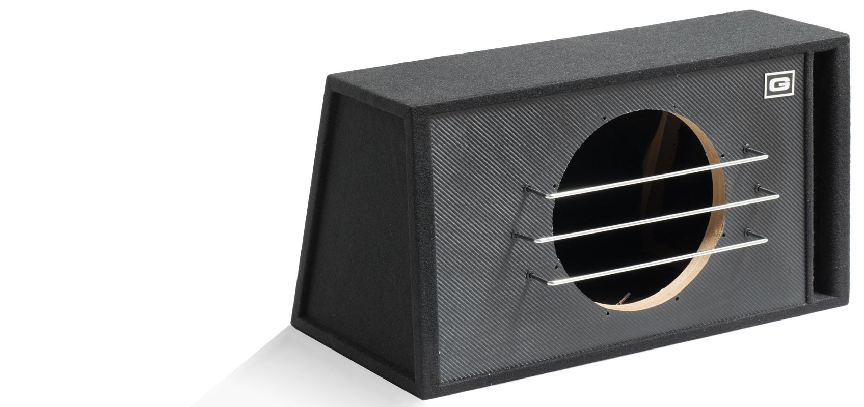 Casse acustiche box per sub accessori rg sound store for 2 box auto con officina e soppalco